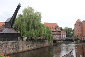 Malerische Altstadt Lüneburg